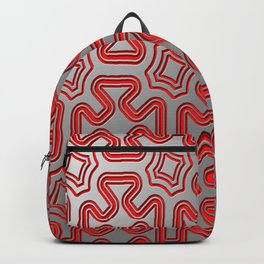 Christmas wrap pattern Backpack