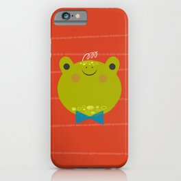 Dressy Froggy iPhone Case