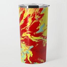 Crimson Wave Travel Mug
