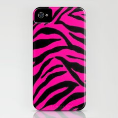 Pink Zebra Slim Case iPhone (4, 4s)
