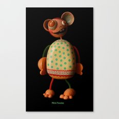 Mimi Favolas Canvas Print