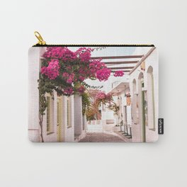 Sifnos Island Greece, Bougainvillea Street Carry-All Pouch