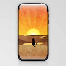 everywhere the light touches.. iPhone & iPod Skin