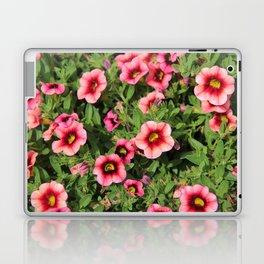 Red Pink Flowers Laptop & iPad Skin