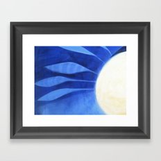 the feathers Framed Art Print