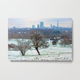 London Skyline Cityscape Primrose Hill Metal Print