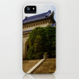 Sun Yat Sun Memorial, Nanjing China. iPhone Case
