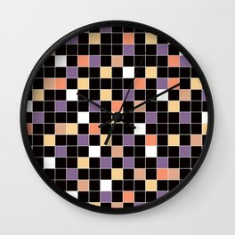 Mosaic. Wall Clock