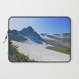 SUMMER'S LAST SNOWMELT WATER Laptop Sleeve