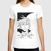 supergirl T-shirts featuring New 52 Supergirl by Jeremy Gonzalez