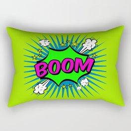 Boom Lime Boom Rectangular Pillow