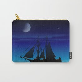 Sailing On A Sea of Green. Carry-All Pouch