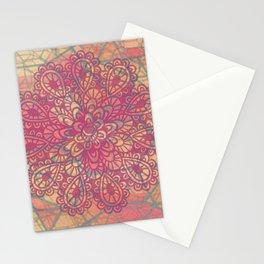 Cracked Ice Cream Mandala Stationery Cards