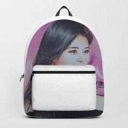Tzuyu Colour Pencil Drawing Art | Xszone Backpack