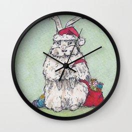 Angora Assistant Wall Clock