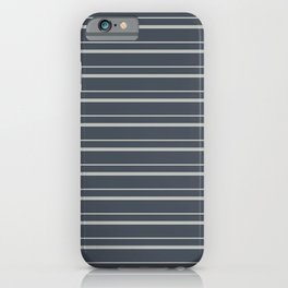 Benjamin Moore 2019 Color of the Year 2019 Metropolitan Light Gray on Hale Navy Blue Gray HC-154 iPhone Case