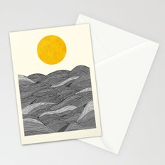 The Grey Waves Stationery Cards