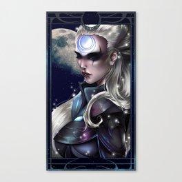 Diana Scorn of the Moon Canvas Print
