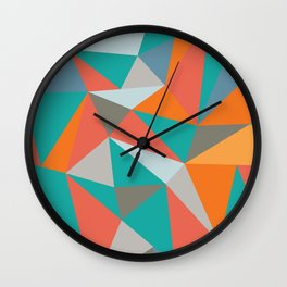 Summer Deconstructed Wall Clock