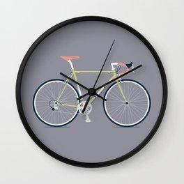 My Bike Green Wall Clock