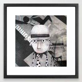 futurismo Framed Art Print