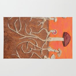 Laughing Shrooms Rug