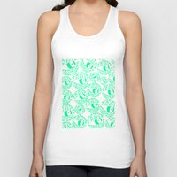 tame impala Tank Tops featuring TAME IMPALA EYES by Queen Lizard