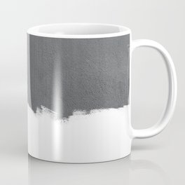White Paint on Concrete Coffee Mug