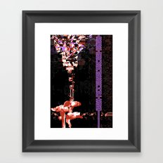 POSTMODERN REPRESENT: Chaos Is Beauty Framed Art Print