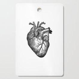 Vintage Heart Anatomy Cutting Board