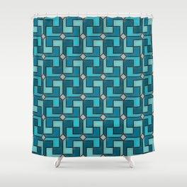 Geometrix XLI Shower Curtain