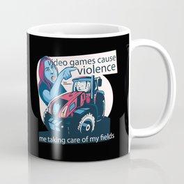 Video Game Cat Meme Coffee Mug