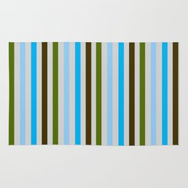 UBER COOL guy stripes Rug