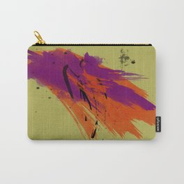 Legends, Abstract Watercolor Brushstrokes Carry-All Pouch