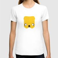 jake T-shirts featuring Marshmallow Jake by Oblivion Creative