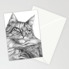 Maine Coon G113 Stationery Cards