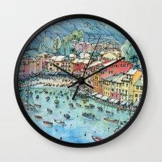 Portofino, Italy Wall Clock