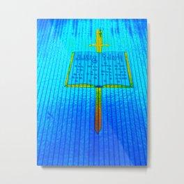 Pencil and Paper Metal Print