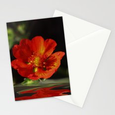 Little red Bloom Stationery Cards