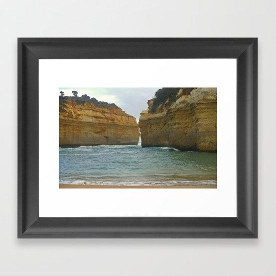 Loch Ard Gorge Framed Art Print