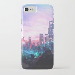 Io Alpha: Scifi City iPhone Case
