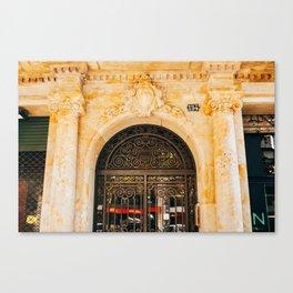Eixample - Barcelona, Spain - #22 Canvas Print