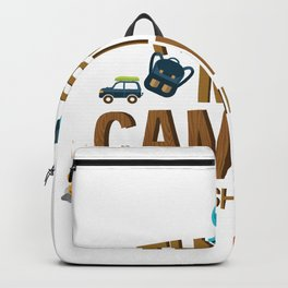 This is My Camping Trip Kids Girl Boy Backpack