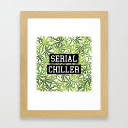 Serial Chiller Framed Art Print