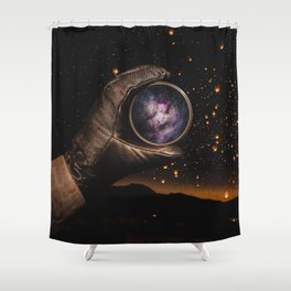A piece of The Milky Way by GEN Z Shower Curtain