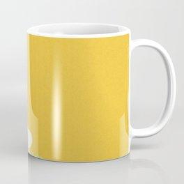 Sumi Print - Flowers in Gold Coffee Mug