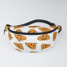 halloween poo emoji Fanny Pack