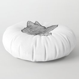 THE WOLF Floor Pillow