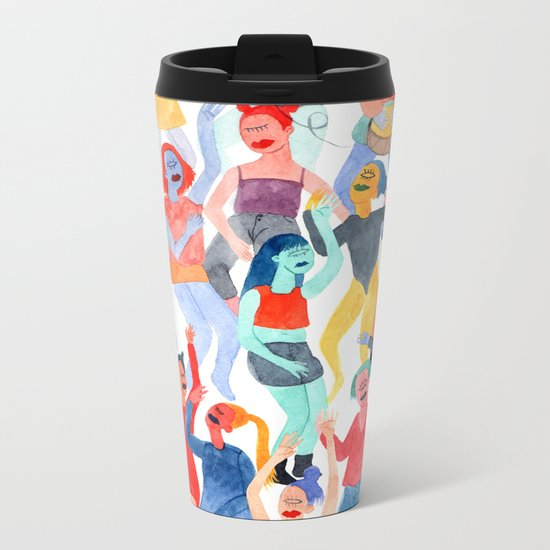 Festival Metal Travel Mug