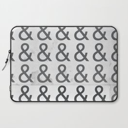 Helvetica Ampersand - Happy National & Day! Laptop Sleeve